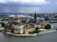 Stare Miasto w Sztokholmie (Szwecja)