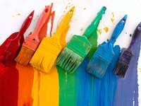 Kolory tęczy puzzle ze zdjęcia