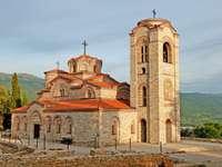 Kościół św. Klemensa w Ochrydzie (Macedonia) puzzle ze zdjęcia
