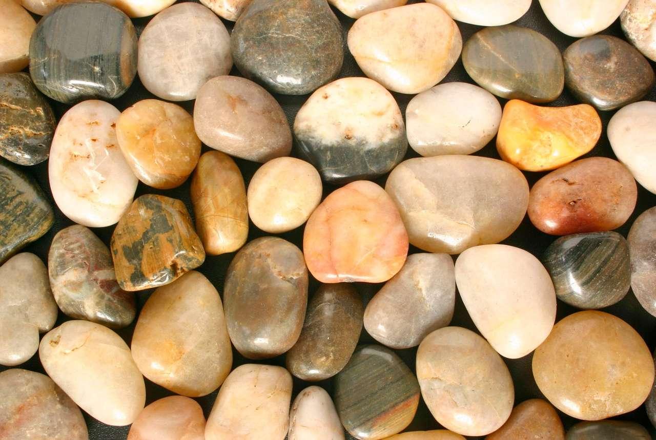 Kamienie z plaży puzzle