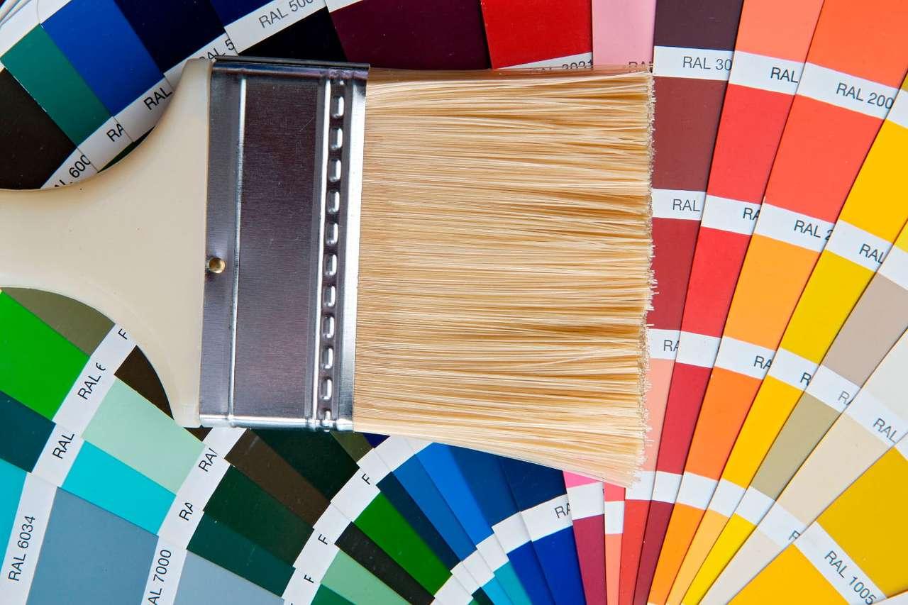 Paleta barw puzzle