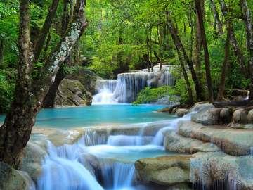 Wodospad Erawan (Tajlandia)