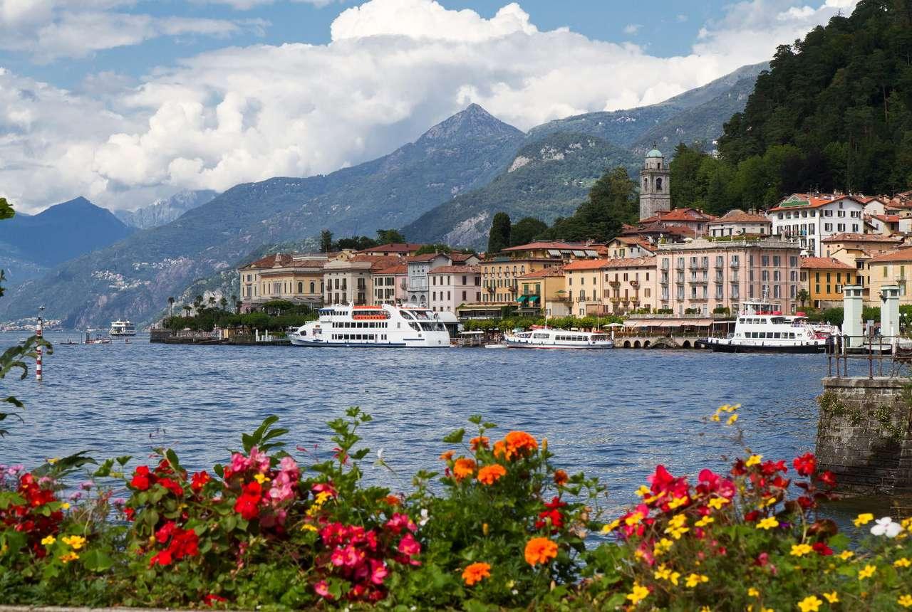 Przystań w Belaggio (Włochy)