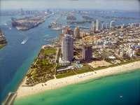 Miami z lotu ptaka (USA)