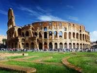 Koloseum w Rzymie (Włochy) puzzle