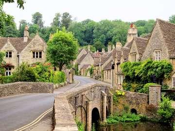 Wieś Castle Combe (Wielka Brytania)