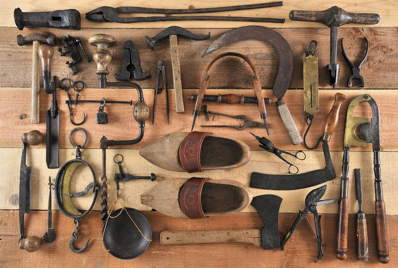 Starodawne narzędzia
