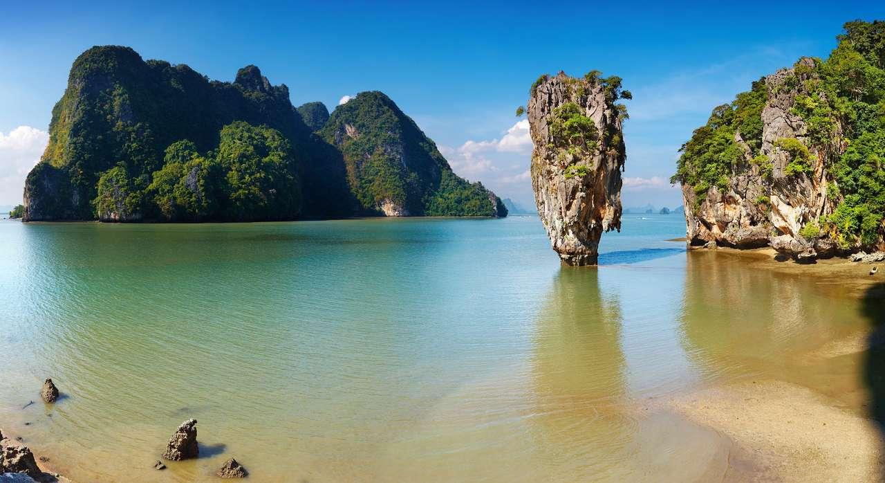"""Ko tapu, czyli """"wyspa gwóźdź"""" (Tajlandia) puzzle"""