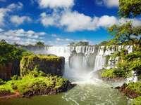 Wodospad Iguazu (Argentyna) puzzle online