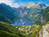 Fiord Geiranger (Norwegia)