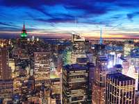 Panorama Manhattanu (USA)