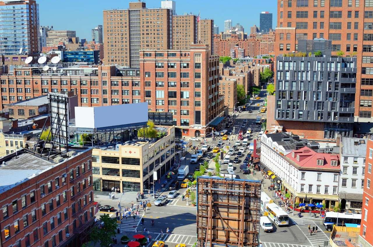 Dzielnica Chelsea na Manhattanie (USA)