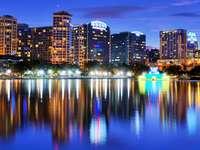 Jezioro Eola w Orlando (USA)
