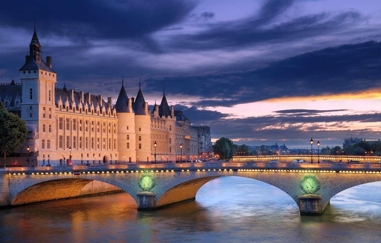 Most Wymiany w Paryżu (Francja)