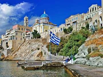 Ermupoli na wyspie Siros (Grecja)