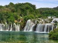 Wodospady na rzece Krka (Chorwacja)