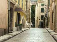 Uliczka w Saint-Tropez (Francja)