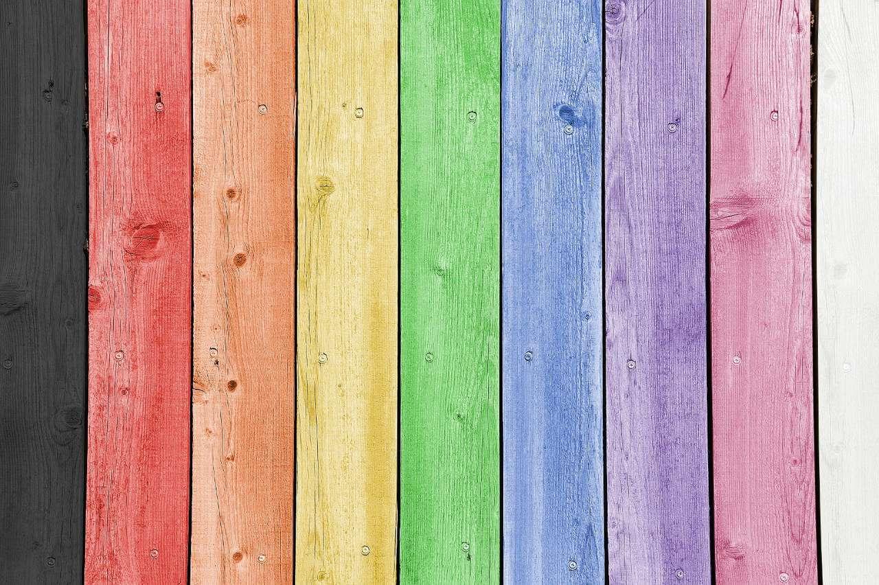 Wzór tęczy - Od wieków widok przenikających się kolorów, które układają się w majestatyczny łuk na podeszczowym niebie, zadziwiał ludzi i pobudzał ich wyobraźnię. Tęcza zajmuje poczesne miejsce w rel (8×6)