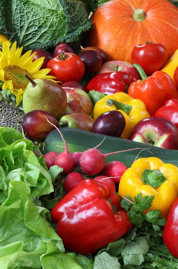 Sterta warzyw i owoców