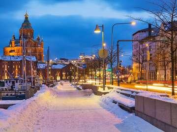 Stare Miasto w Helsinkach (Finlandia)