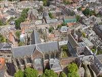 Utrecht - widok z wieży Domtoren (Holandia)