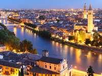 Wieczór w Weronie (Włochy)