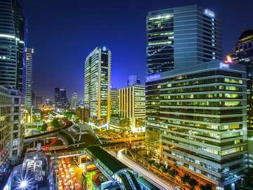 Ulice w Bangkoku (Tajlandia)