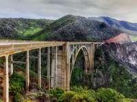 Bixby Bridge w Big Sur (USA)