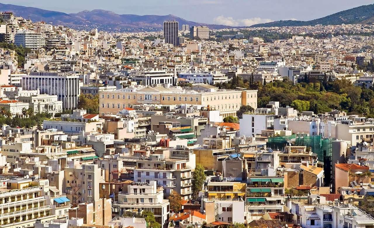 Parlament Grecji w Atenach (Grecja)