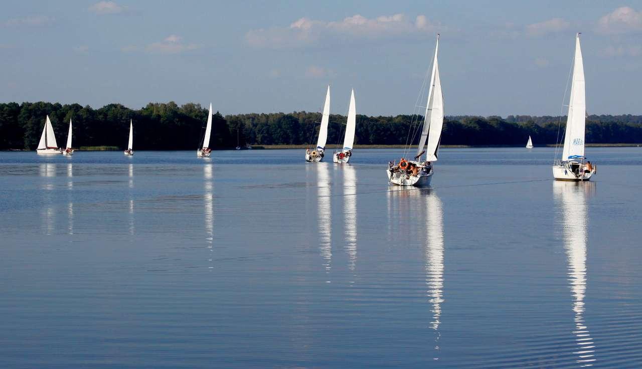 Jachty na Jezioraku -  (9×4)