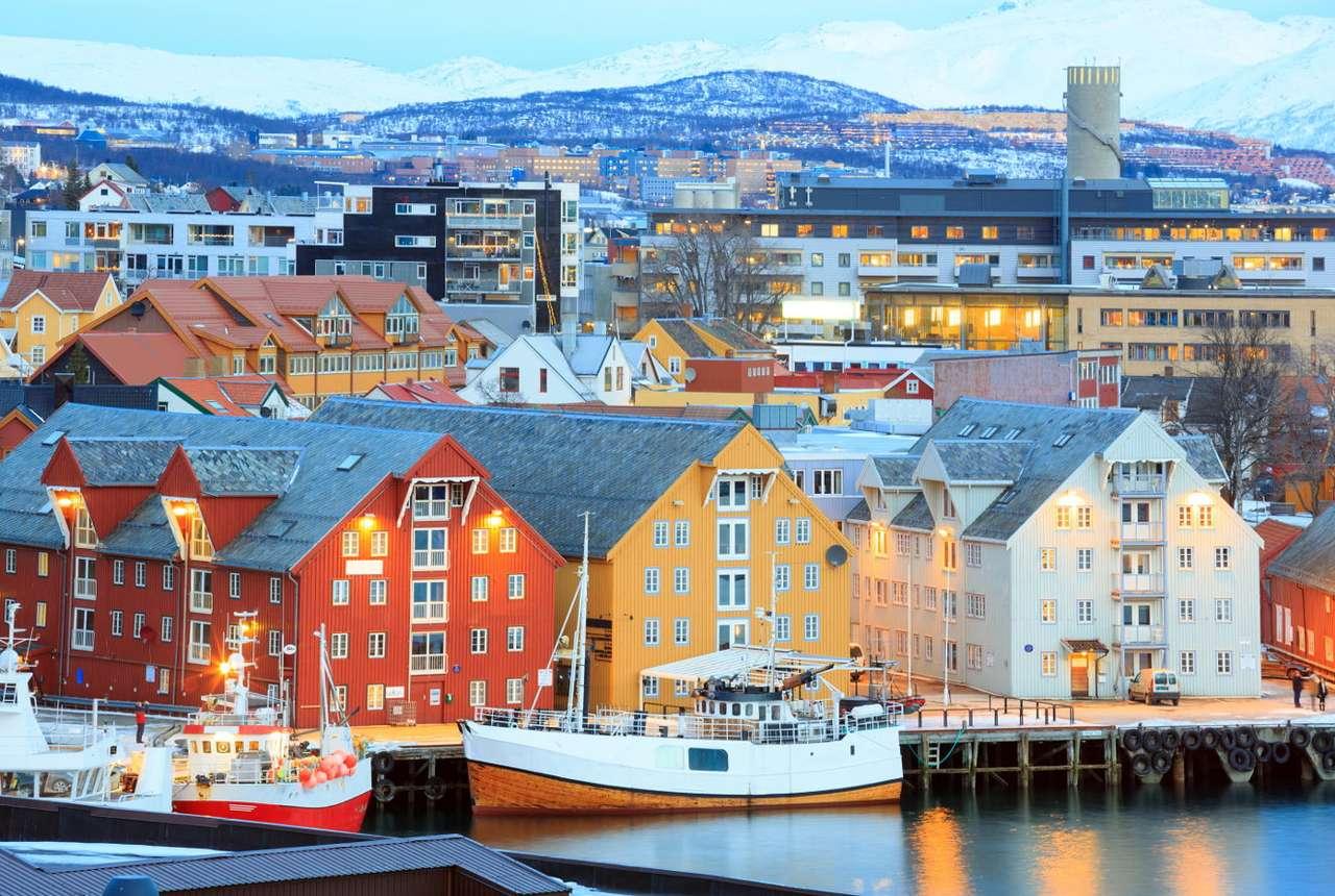 Port w Tromsø (Norwegia)