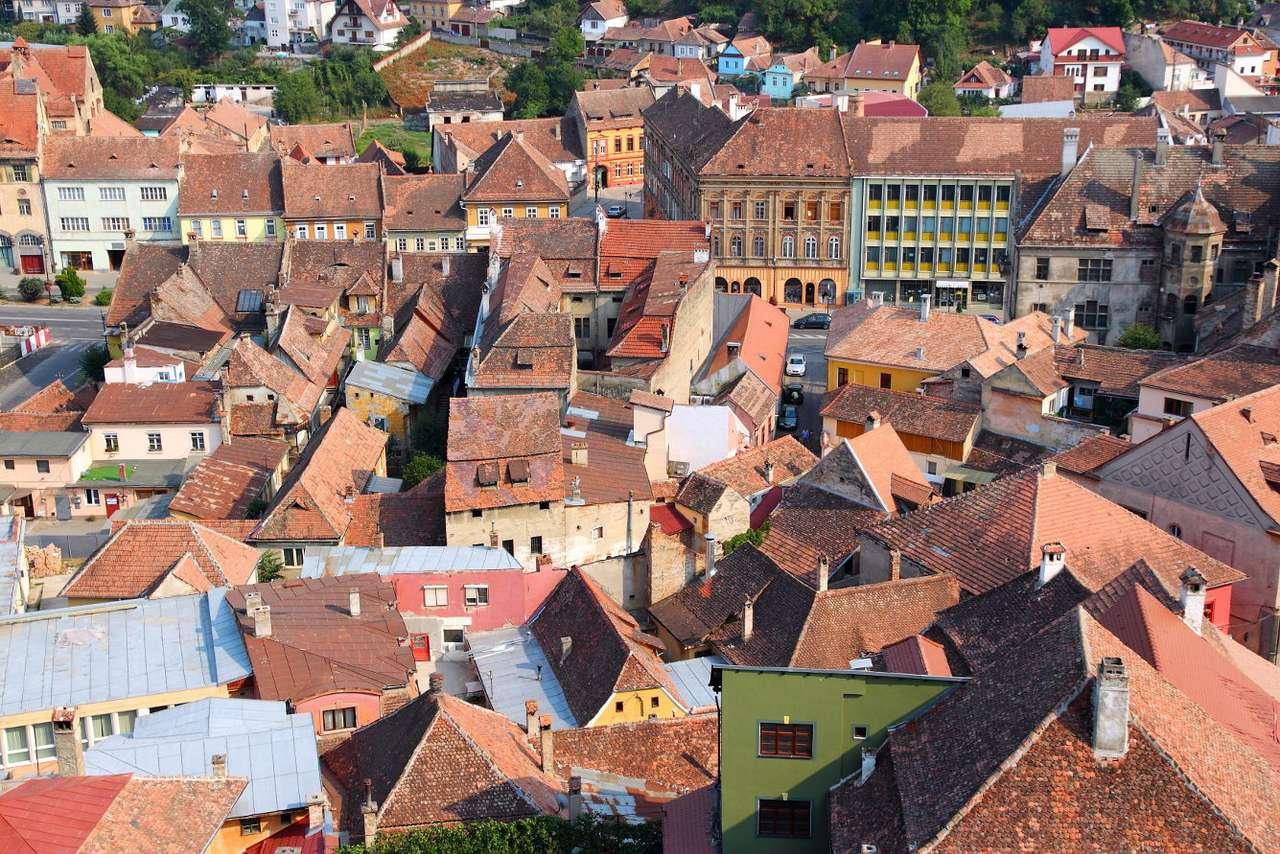 Miasto Sighișoara w Transylwanii (Rumunia) - W środkowej Rumunii zlokalizowana jest kraina historyczna zwana Siedmiogrodem lub Transylwanią. Na jej terenach, nad rzeką Wielką Tyrnawą, znajduje się miasto Sighișoara, które może się posz (15×11)