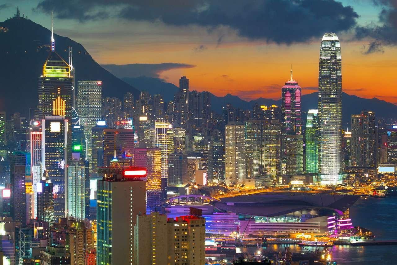 Biurowce w Hong Kongu (Chiny)