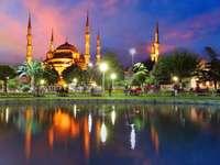 Błękitny Meczet w Stambule (Turcja)