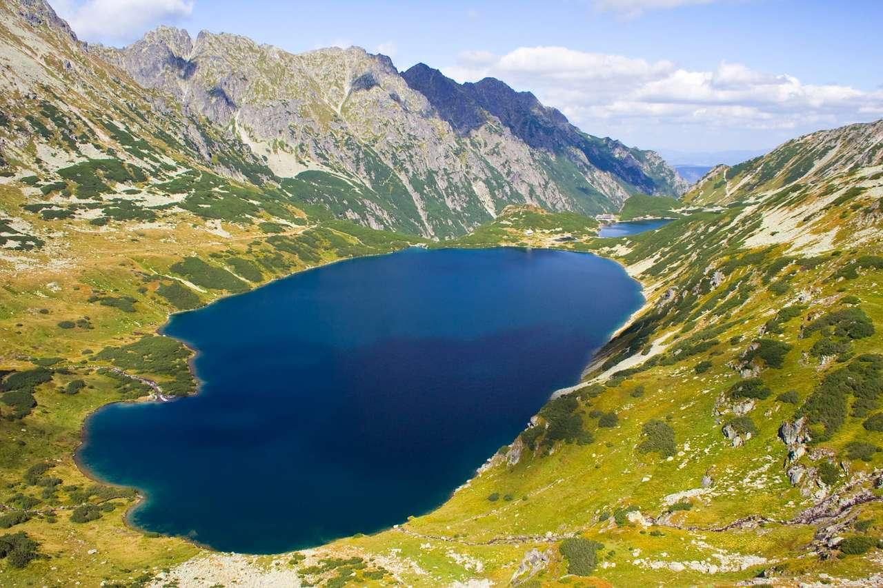 Lato w Dolinie Pięciu Stawów Polskich w Tatrach puzzle online