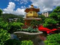 Ogród Nan Lian w Hong Kongu (Chiny)
