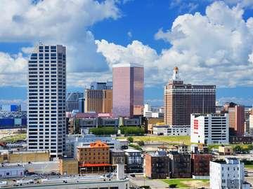 Wieżowce w Atlantic City (USA)