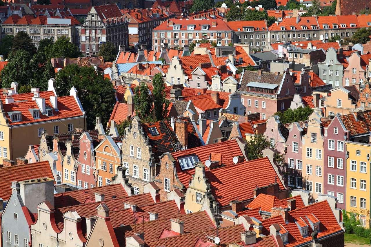 Widok na Stare Miasto w Gdańsku
