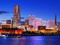 Minato Mirai w Jokohamie (Japonia) puzzle online