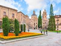 Stare miasto w Salamance (Hiszpania)
