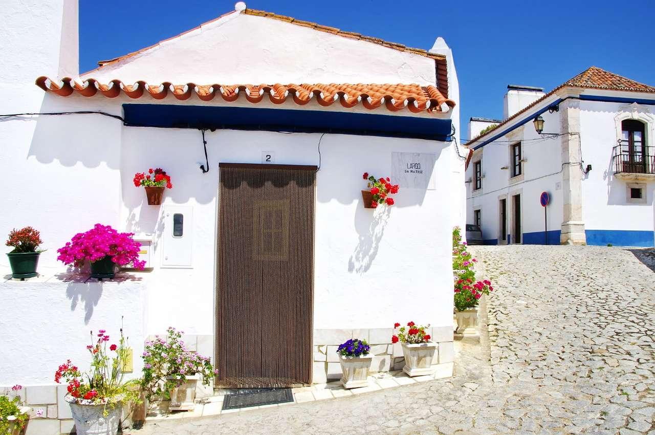 Ulica w miasteczku Terena (Portugalia)