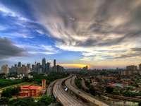 Widok na Kuala Lumpur (Malezja)