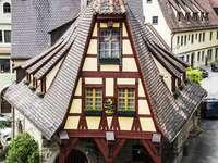 Stara kuźnia w Rothenburgu on der Tauber (Niemcy)