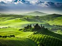 Dolina Val d'Orcia (Włochy)