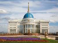 Pałac prezydencki w Astanie (Kazachstan)