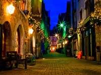 Wieczór na starówce w Galway (Irlandia)