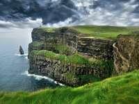 Klify Moher w Irlandii