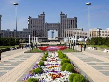 Siedziba Ministerstwa Zasobów Naturalnych w Astanie (Kazachstan)