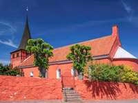 Czerwony kościół Svaneke Kirke (Dania)