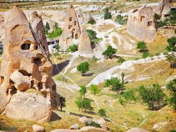 Pejzaż Kapadocji (Turcja)
